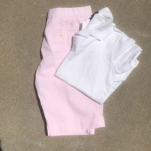 Ladies Ralph Lauren Golf Outfit